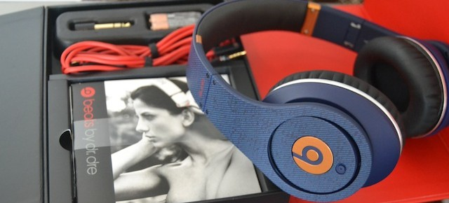 Limited Edition Denim Beats by Dr. Dre Studio